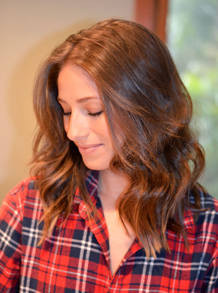 Hair How To Beachy Waves The August Diaries