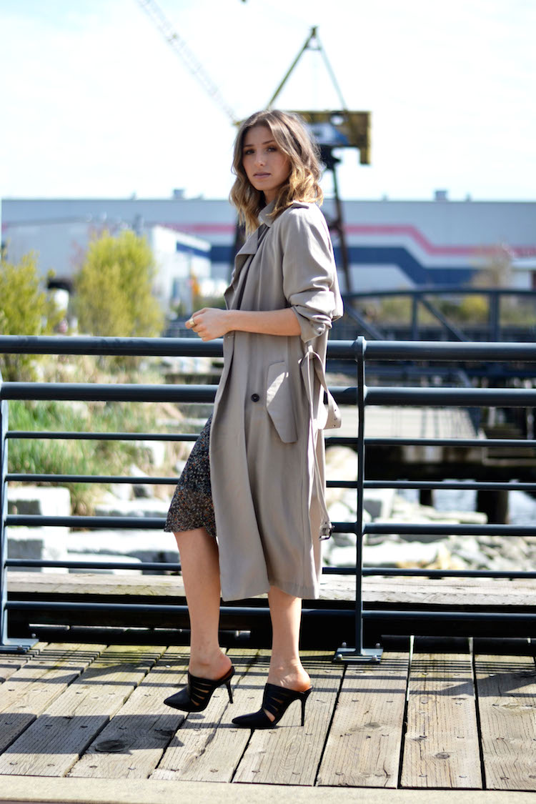 231bcee9 Trenchcoat Trench Coat Dress Zara Khaki Kleid Trend. Zara Lace Dress  Archive Fashionhippieloves