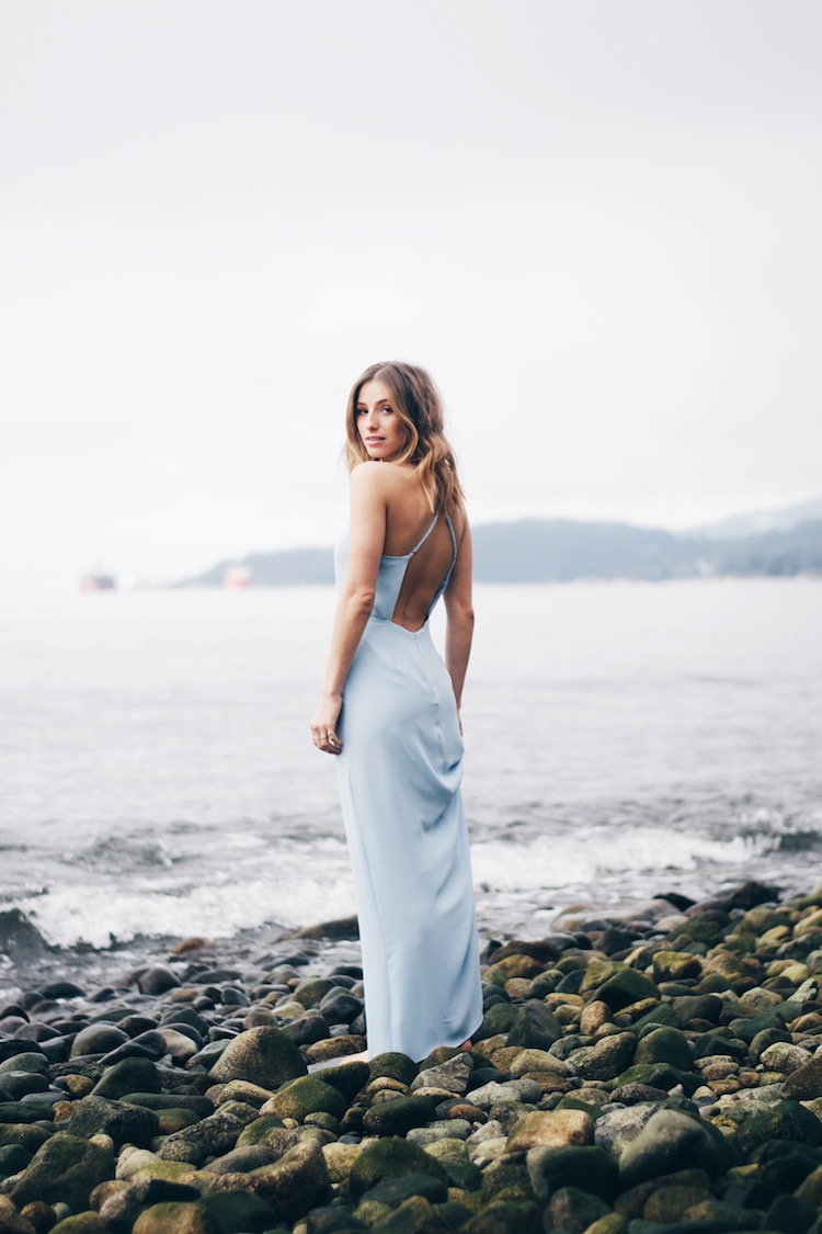 Valentines Outfit Maxi Dress Beach Editorial