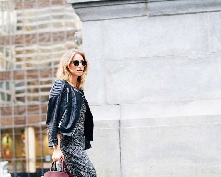 5 ways to wear a leather jacket