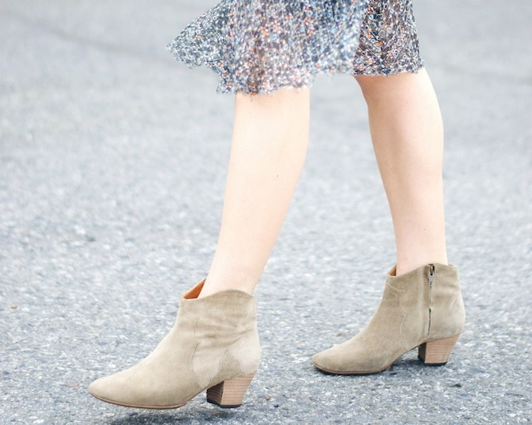 how to wear booties this summer