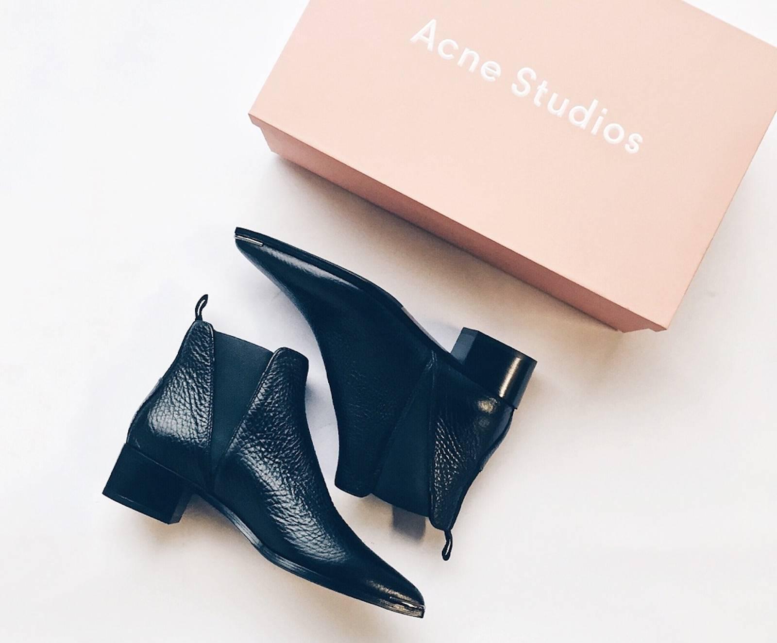 acne jensen boots blogger