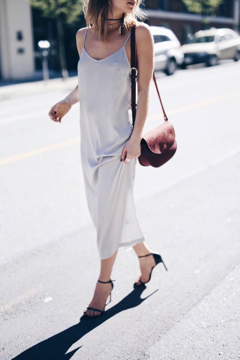 90's slip dress