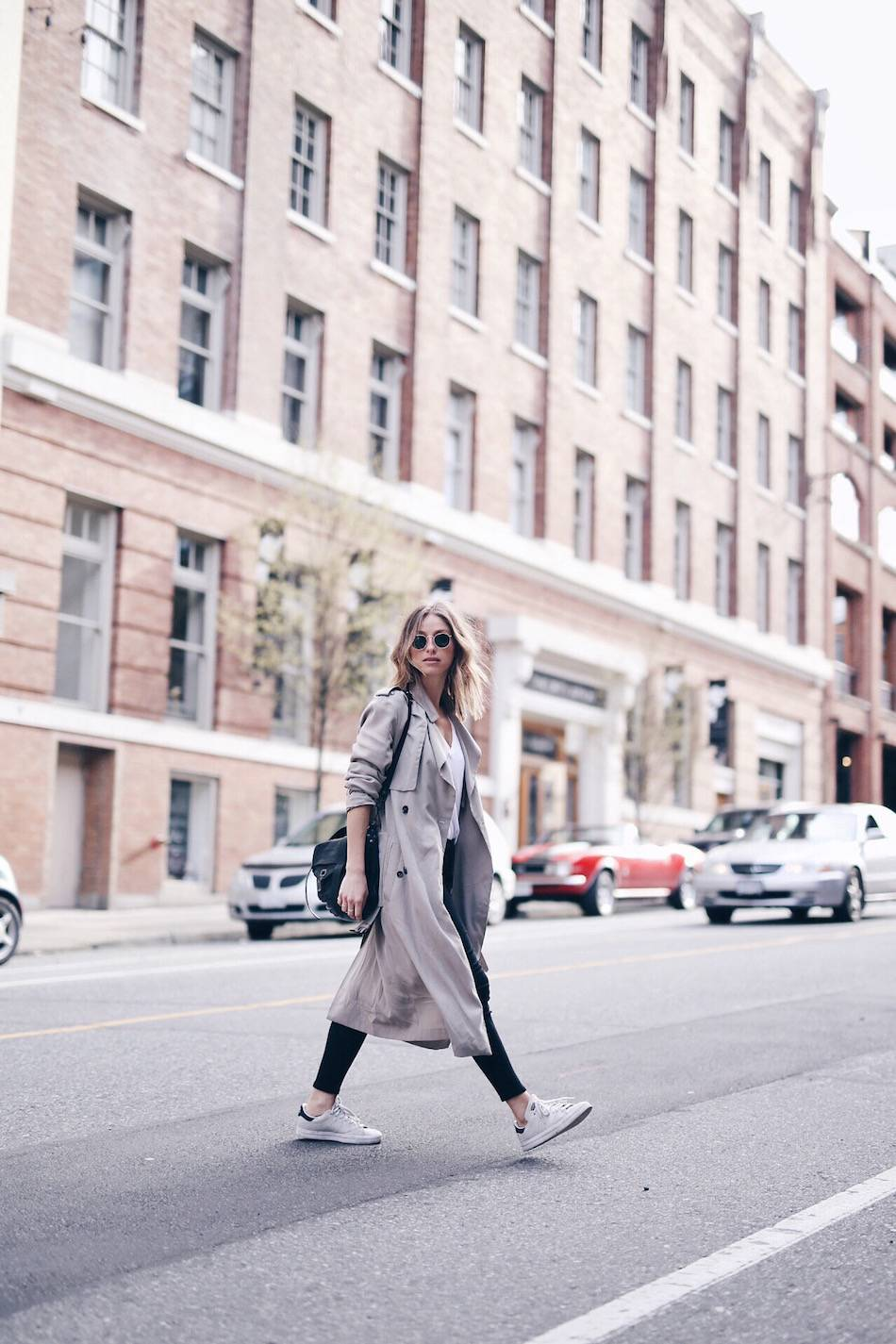 spring street style duster coat