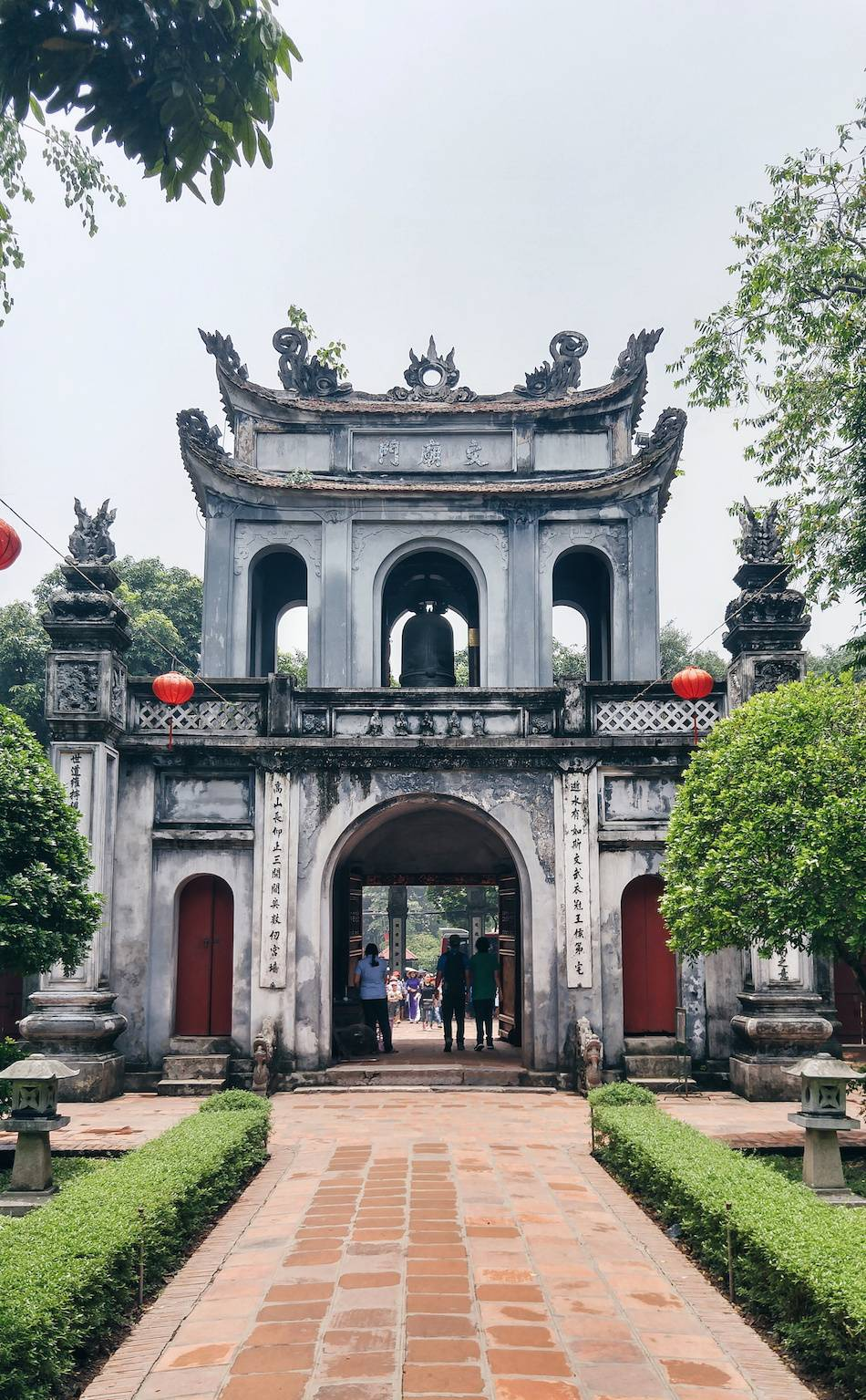 temple of literature - what to do in vietnam