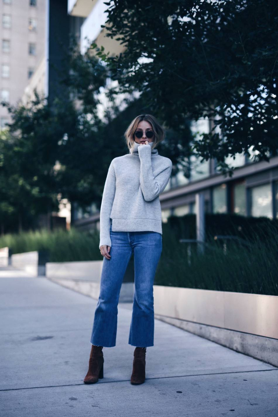 street style with turtlenecks