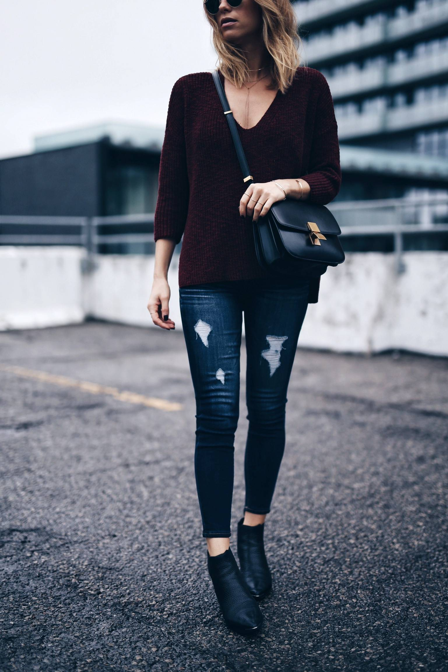 effortless street style with express sweater