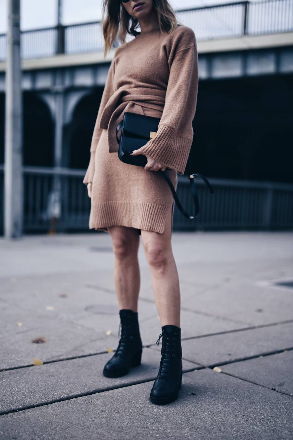 style-blogger-jill-lansky-of-the-august-diaries-wearing-3-1-phillip-lim-knit-dress-celine-black-box-bag-and-ld-tuttle-combat-boots