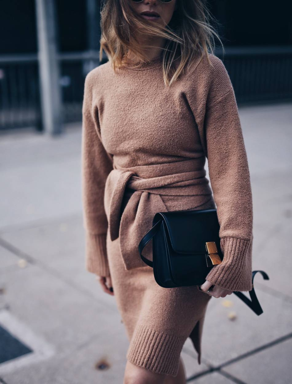 style-blogger-jill-lansky-of-the-august-diaries-wearing-3-1-phillip-lim-wide-sleeve-belt-dress-celine-box-bag fashion blogger wedding planning