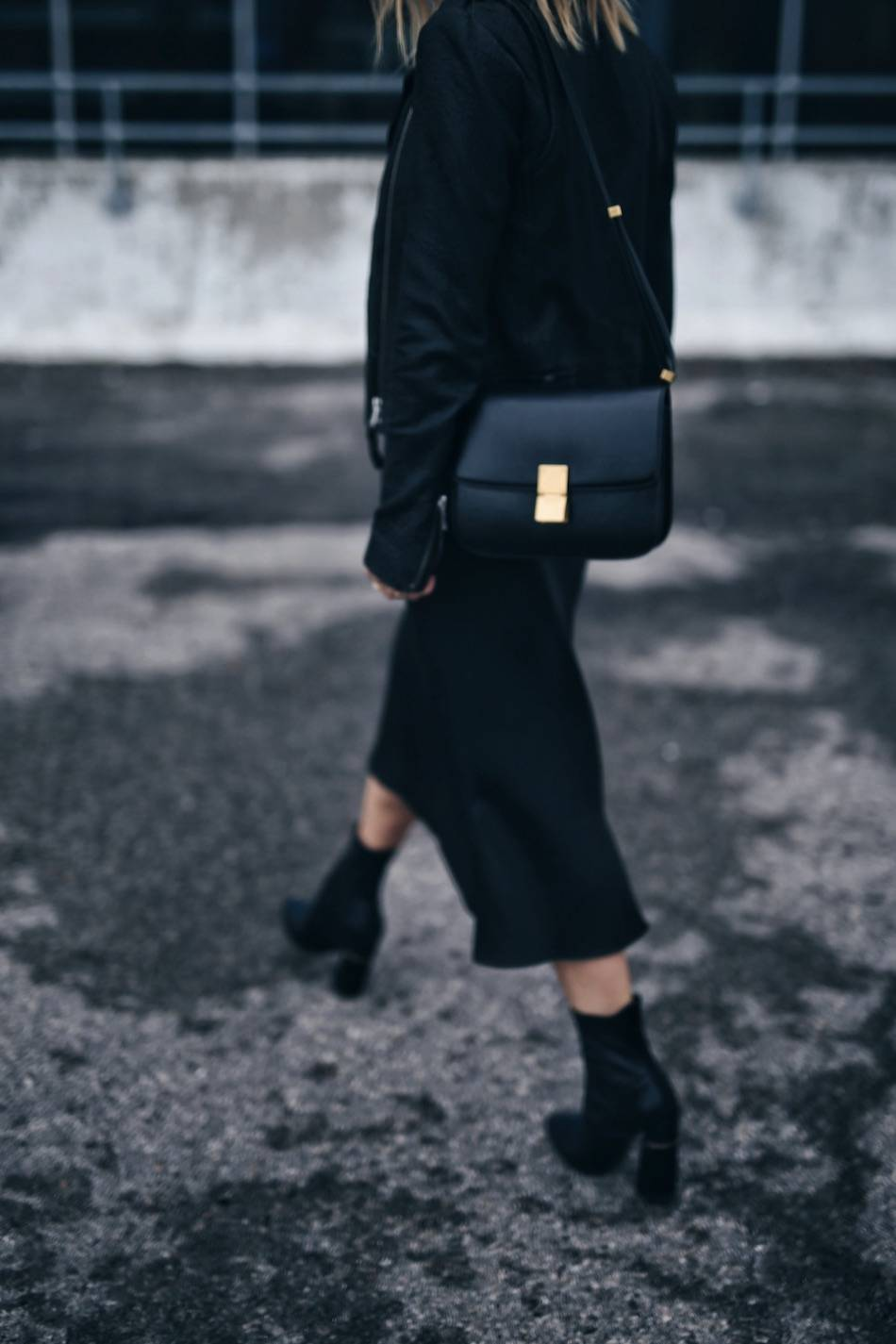 style-and-beauty-blogger-jill-lansky-of-the-august-diaries-in-a-mackage-rumer-leather-jacket-and-slip-dress-celine-medium-box-bag-and-3-1-phillip-lim-kyoto-boots