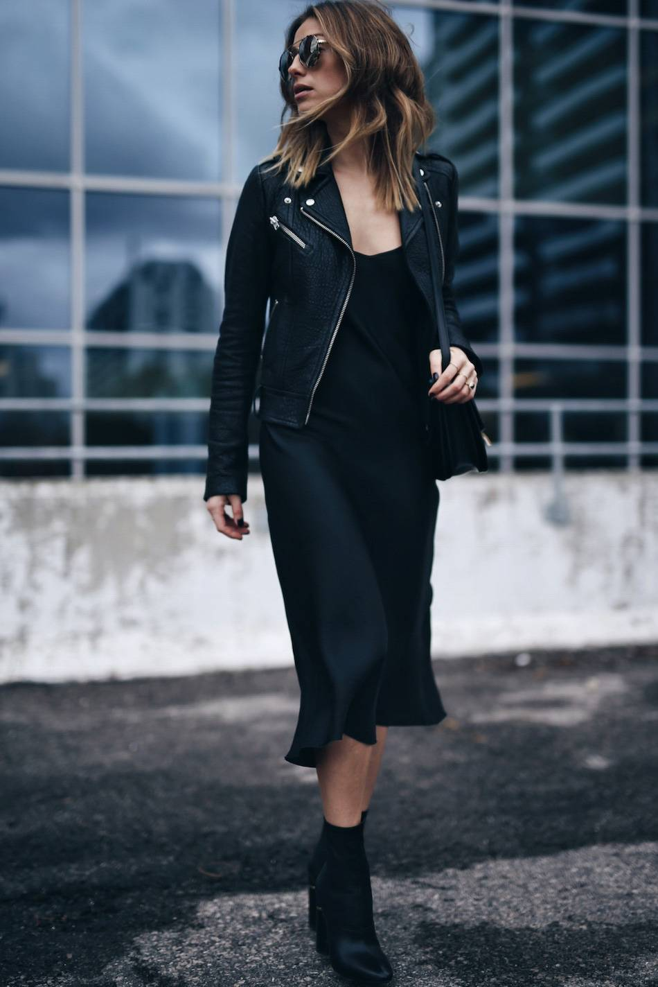 style-and-beauty-blogger-jill-lansky-of-the-august-diaries-in-a-mackage-rumer-leather-jacket-slip-dress-celine-bag-and-3-1-phillip-lim-kyoto-boots