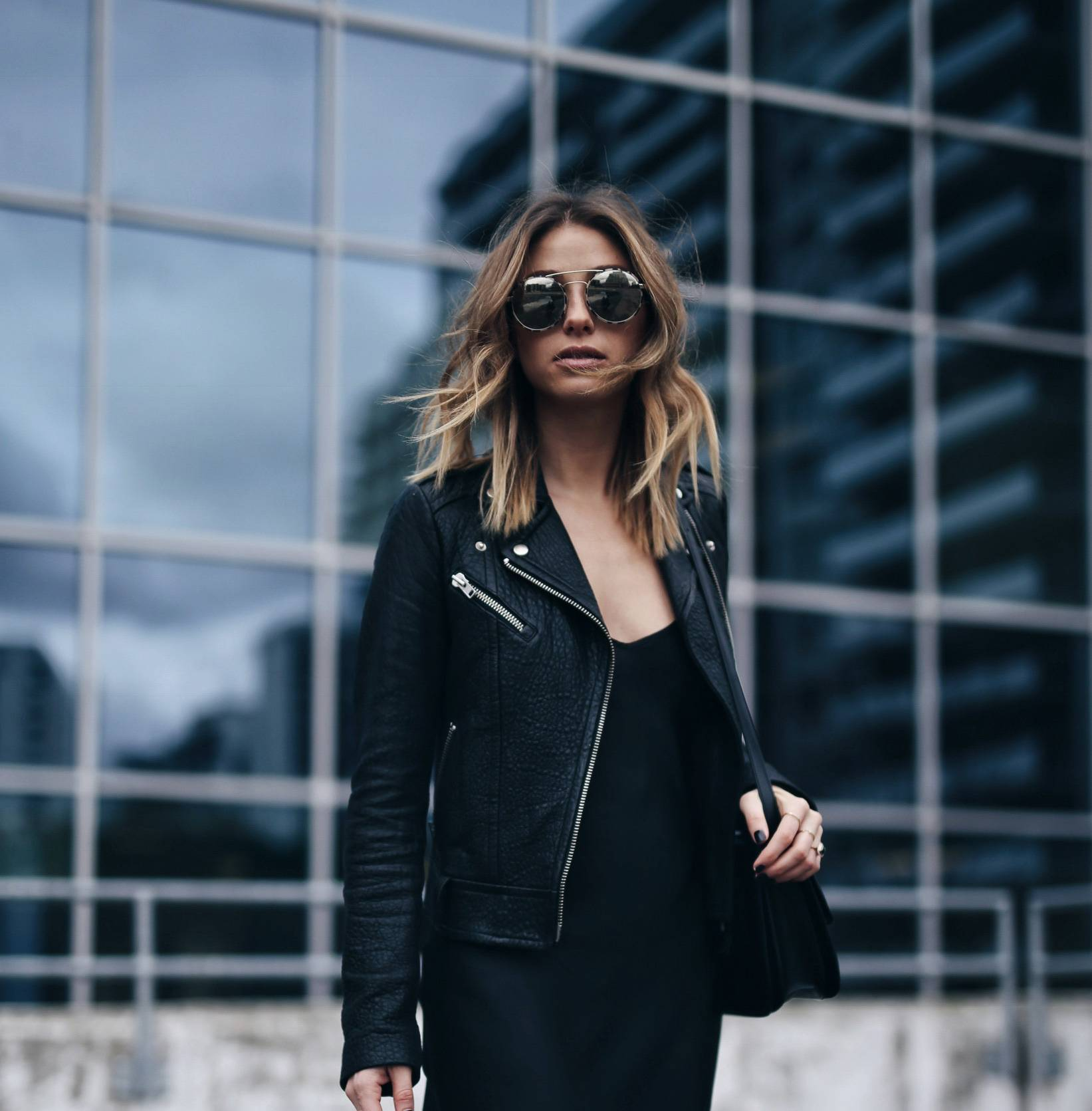 fi-style-and-beauty-blogger-jill-lansky-of-the-august-diaries-in-a-mackage-rumer-leather-jacket-and-organic-by-john-patrick-slip-dress-copy