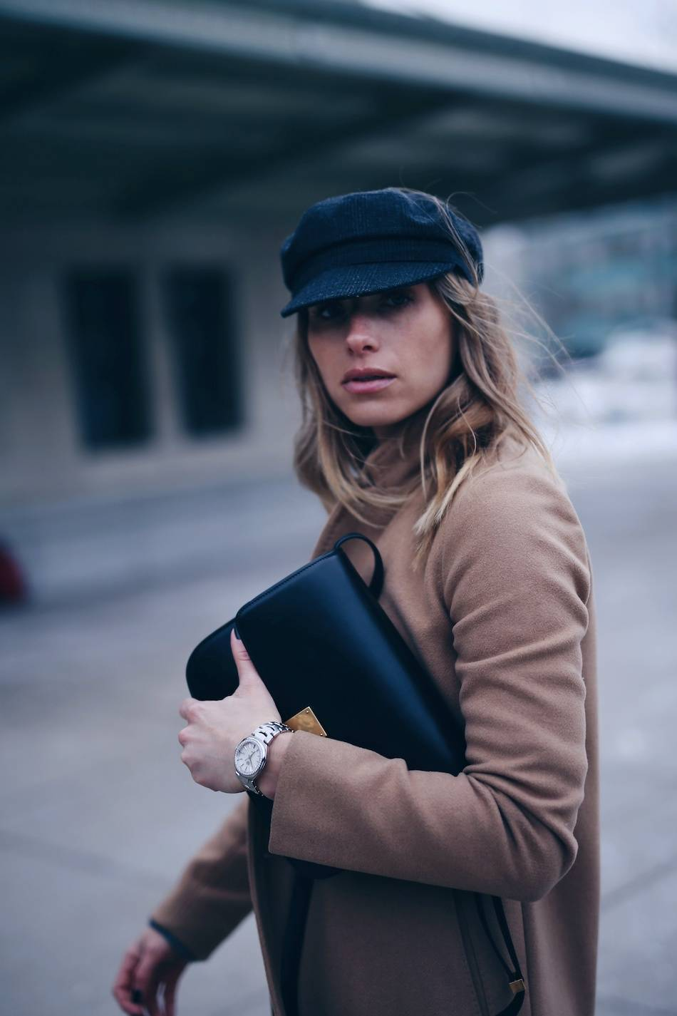Style and beauty blogger Jill Lansky of The August Diaries Isabel marant Eva newsboy cap on how to grow your blog
