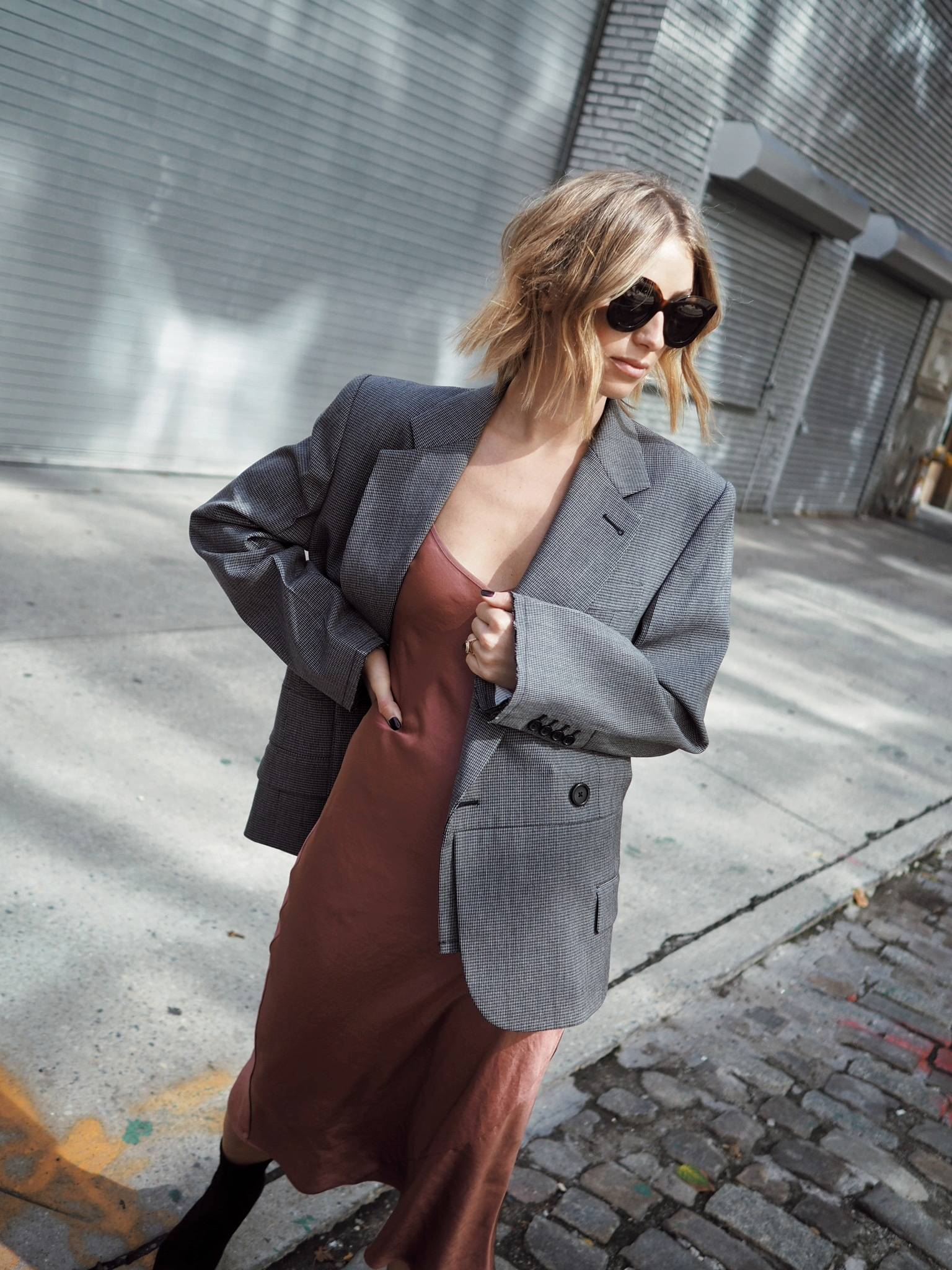Style and beauty blogger Jill Lansky of the August Diaries in fall fashion trends