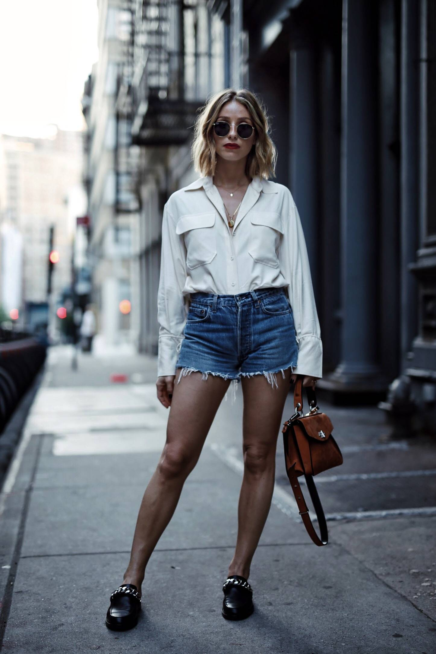 Style and beauty blogger Jill Lansky of the August Diaries on how to dress outside your comfort zone