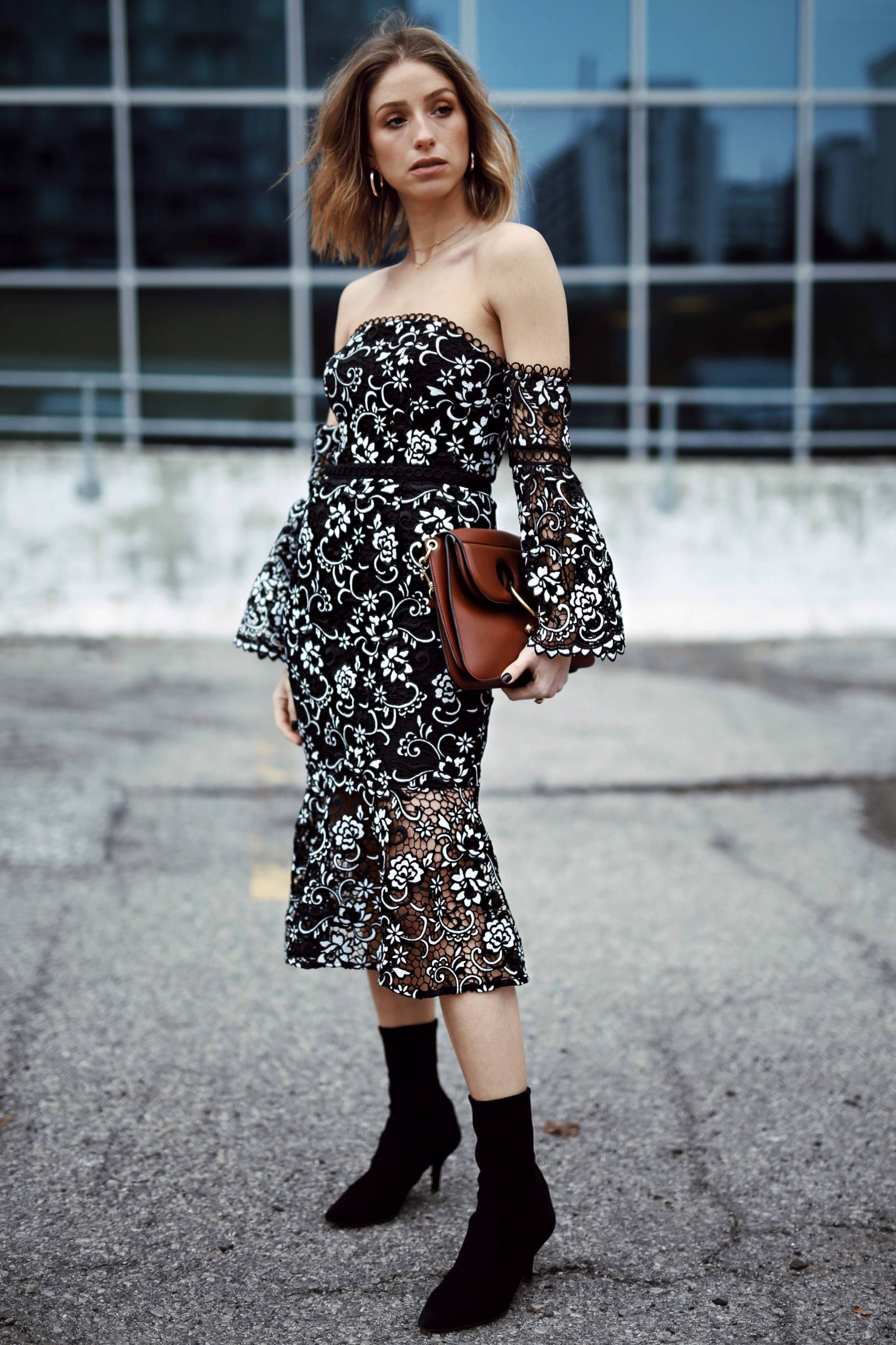 Style and beauty blogger Jill Lansky of the August Diaries on 5 ways to toughen up a dress